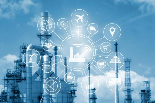 цифровой завод с технологиями современной промышленной автоматизации